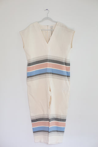 Suno Striped Jumpsuit