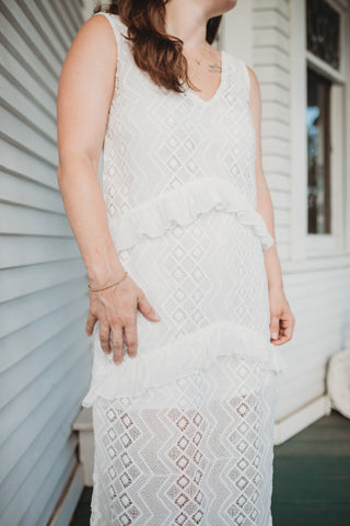 Palm Collective Elle Lace Maxi Dress