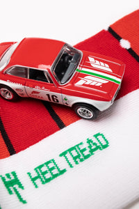HEEL TREAD Racing Socken - GTA