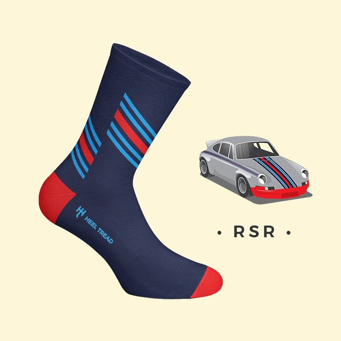 HEEL TREAD Racing Socken - RSR / M-Racing