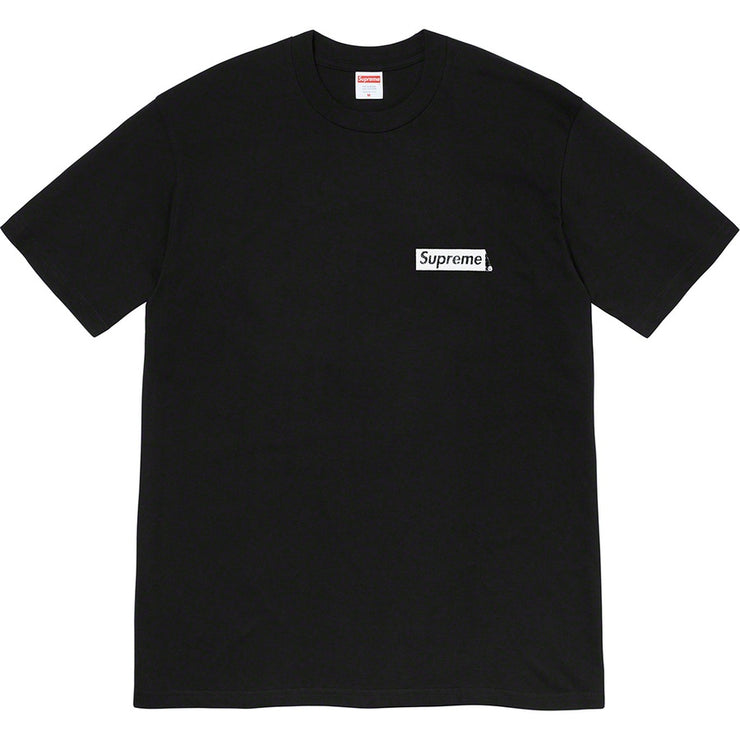 SUPREME SPIRAL TEE SHIRT BLACK
