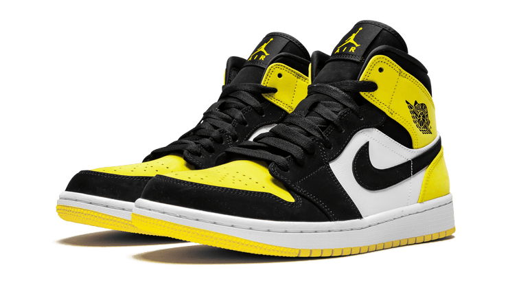 "JORDAN 1 MID ""YELLOW TOE"""