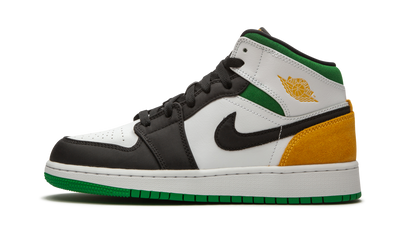 JORDAN 1 MID SE LASER ORANGE/LUCKY GREEN