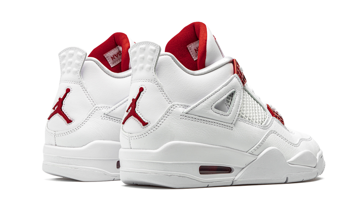 JORDAN 4 METALLIC RED