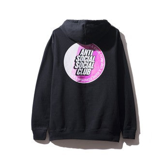ANTI SOCIAL SOCIAL CLUB X SURF UP HOODIE BLACK