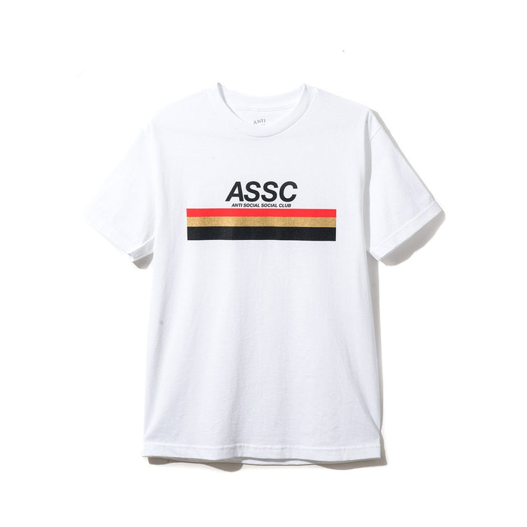 ANTI SOCIAL SOCIAL CLUB TYPE R TEE WHITE