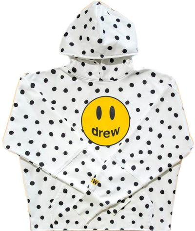 DREW HOUSE MASCOT DECONSTRUCTED HOODIE POLKA DOT (LIMITED SALE)