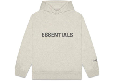ESSENTIALS FOG 3D SILICON HOODIE OATMEAL (LIMITED SALE)