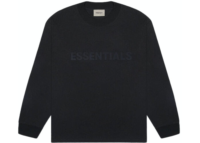 ESSENTIALS FOG 3D SILICON LONG SLEEVE BLACK