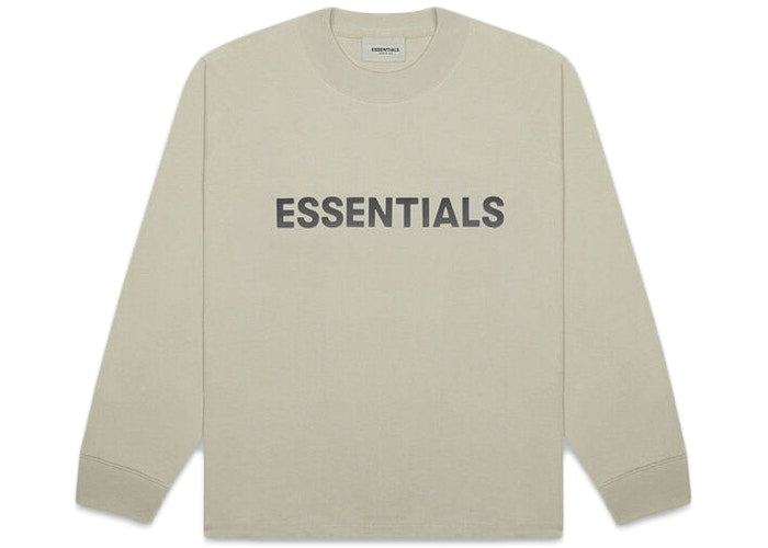 ESSENTIALS FOG 3D SILICON LONG SLEEVE MOSS