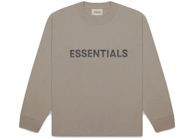 ESSENTIALS FOG 3D SILICON LONG SLEEVE TAUPE