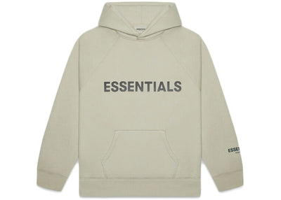 ESSENTIALS FOG 3D SILICON HOODIE MOSS