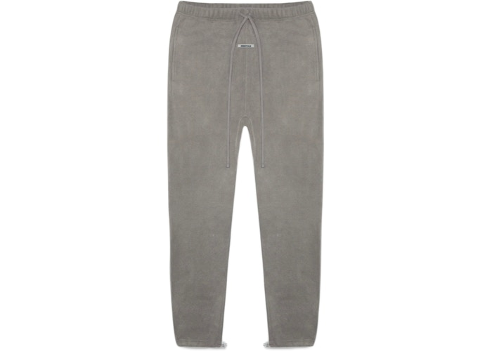ESSENTIAL FOG FLEECE SWEATPANTS GREY FLANNEL/CHARCOAL