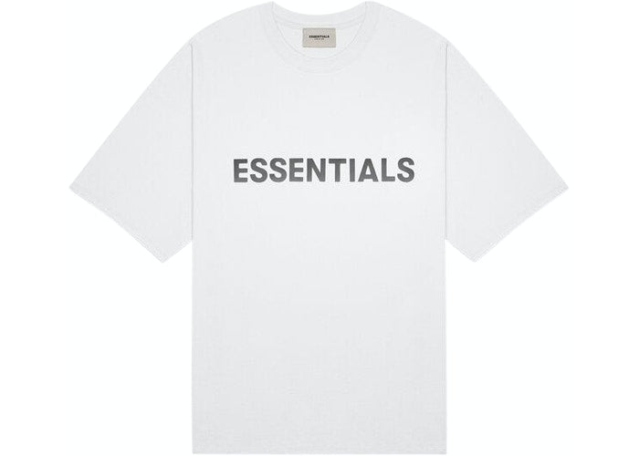 ESSENTIALS FOG SILICON TEE WHITE