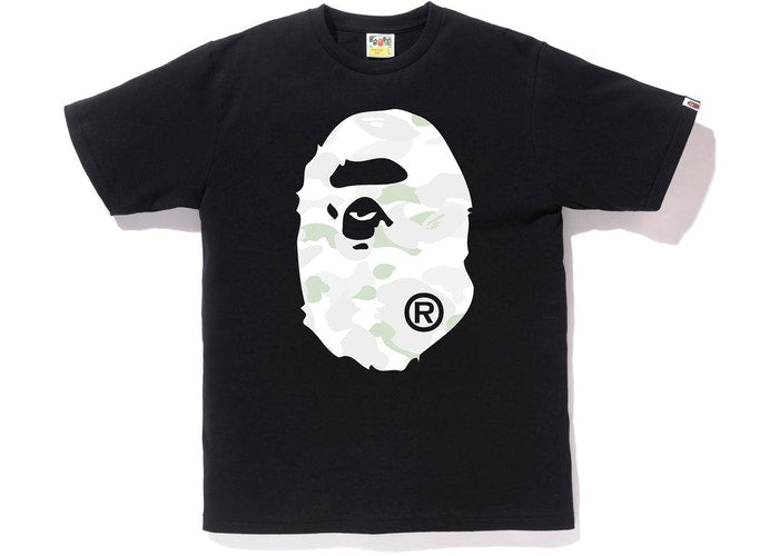 BAPE BIG HEAD GLOW CAMO T-SHIRT