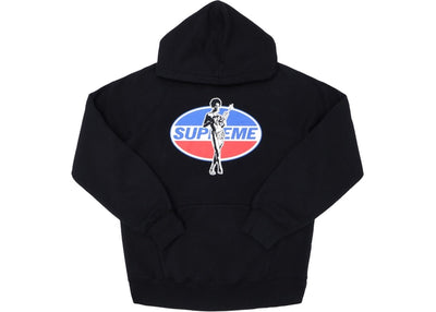 HYSTERIC GLAMOUR HOODIE BLACK