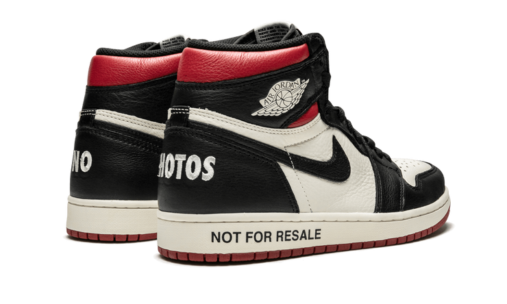 JORDAN 1 NFR RED – ONE OF A KIND