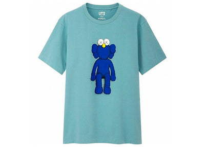 KAWS x UNIQLO BFF BLUE TEE WHITE