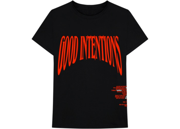 VLONE NAV GOOD INTENTIONS TEE
