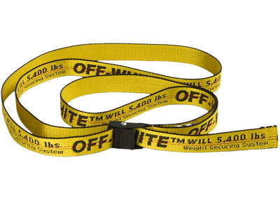 OFF WHITE MINI BELT YELLOW