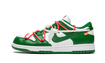 NIKE X OW DUNK LOW PINE GREEN