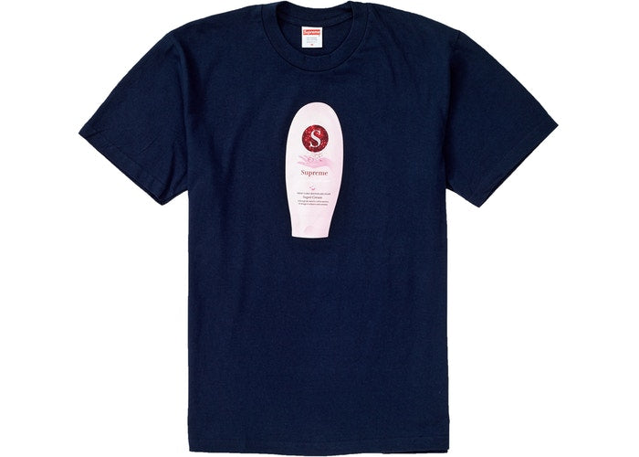 SUPREME CREAM TEE NAVY