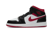 JORDAN 1 MID BLACK GYM RED