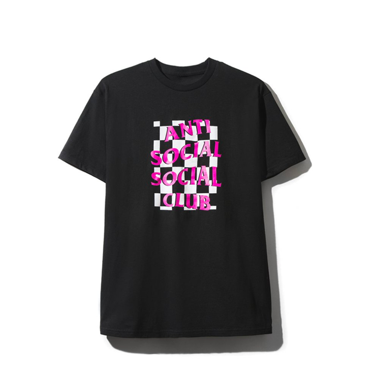 ANTI SOCIAL SOCIAL CLUB CHECKERED TEE BLACK