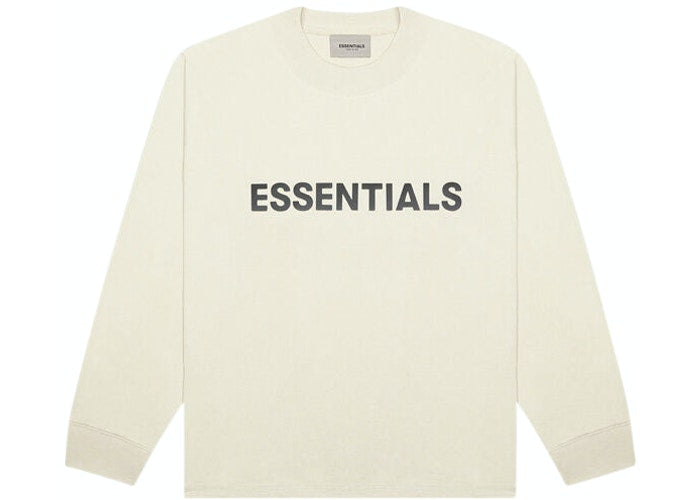 ESSENTIALS FOG 3D SILICON LONG SLEEVE BUTTERCREAM