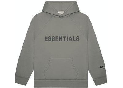 ESSENTIALS FOG 3D SILICON HOODIE CHARCOAL