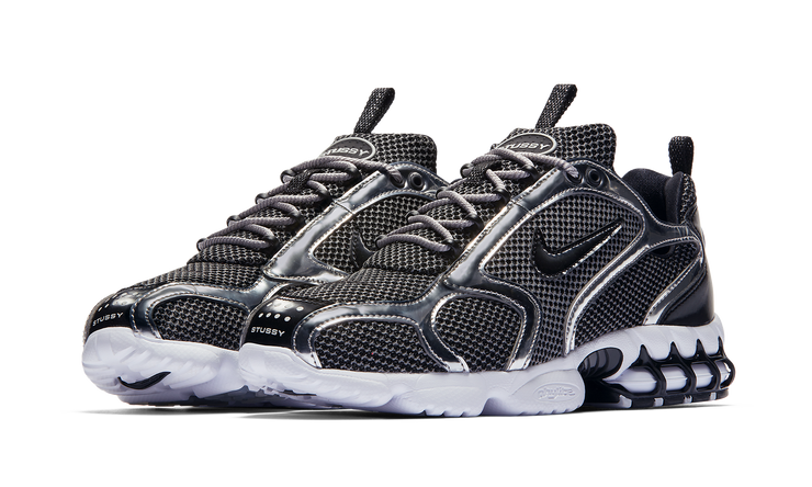 AIR ZOOM SPIRIDON CAGED STUSSY PURE PLATINUM