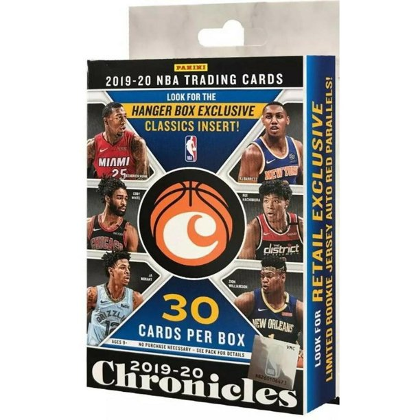 2019-2020 NBA CHRONICLES HANGER BOX
