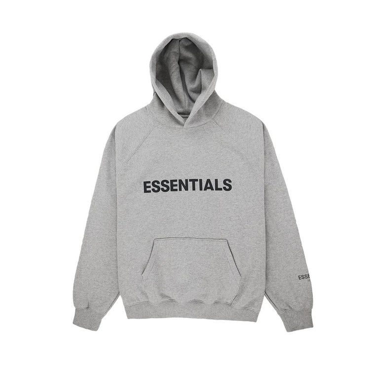 ESSENTIALS FOG HOODIE DARK HEATHER GREY