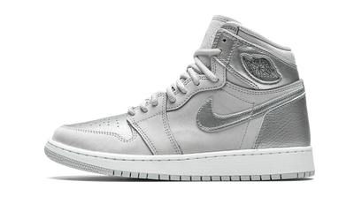 JORDAN 1 CO. JP METALLIC SILVER