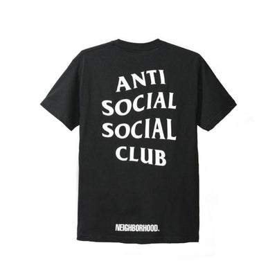 ANTI SOCIAL SOCIAL CLUB NEIGHBOURHOOD 911 TEE BLACK