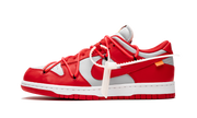 NIKE X OW DUNK LOW RED