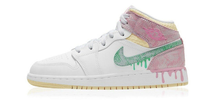 JORDAN 1 MID SE PAINT DRIP ICE CREAM PS