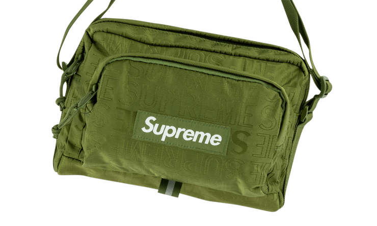 SUPREME SIDE BAG GREEN