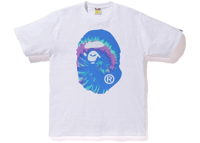 BAPE BIG HEAD TIE DYE T-SHIRT