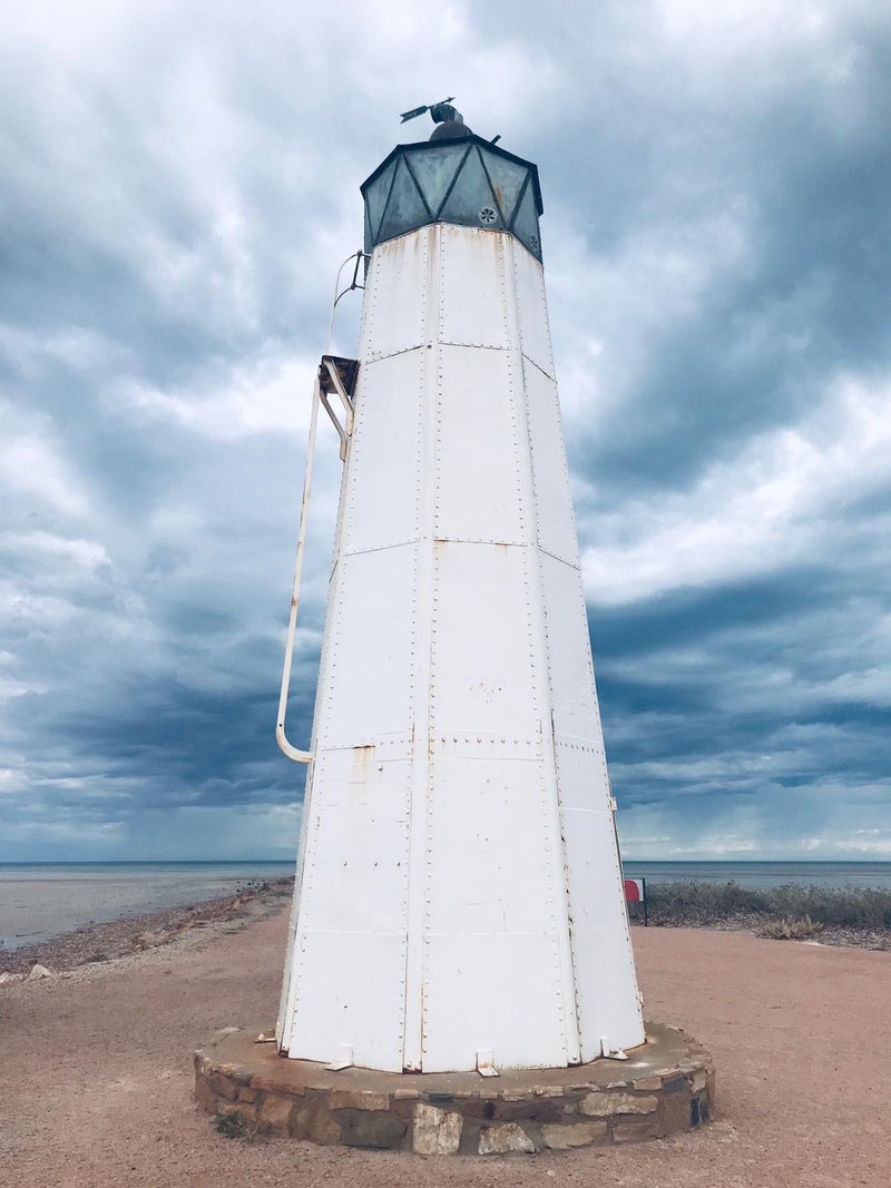"A2 Matte Print ""Port Germein Lighthouse SA"" (Portrait)"