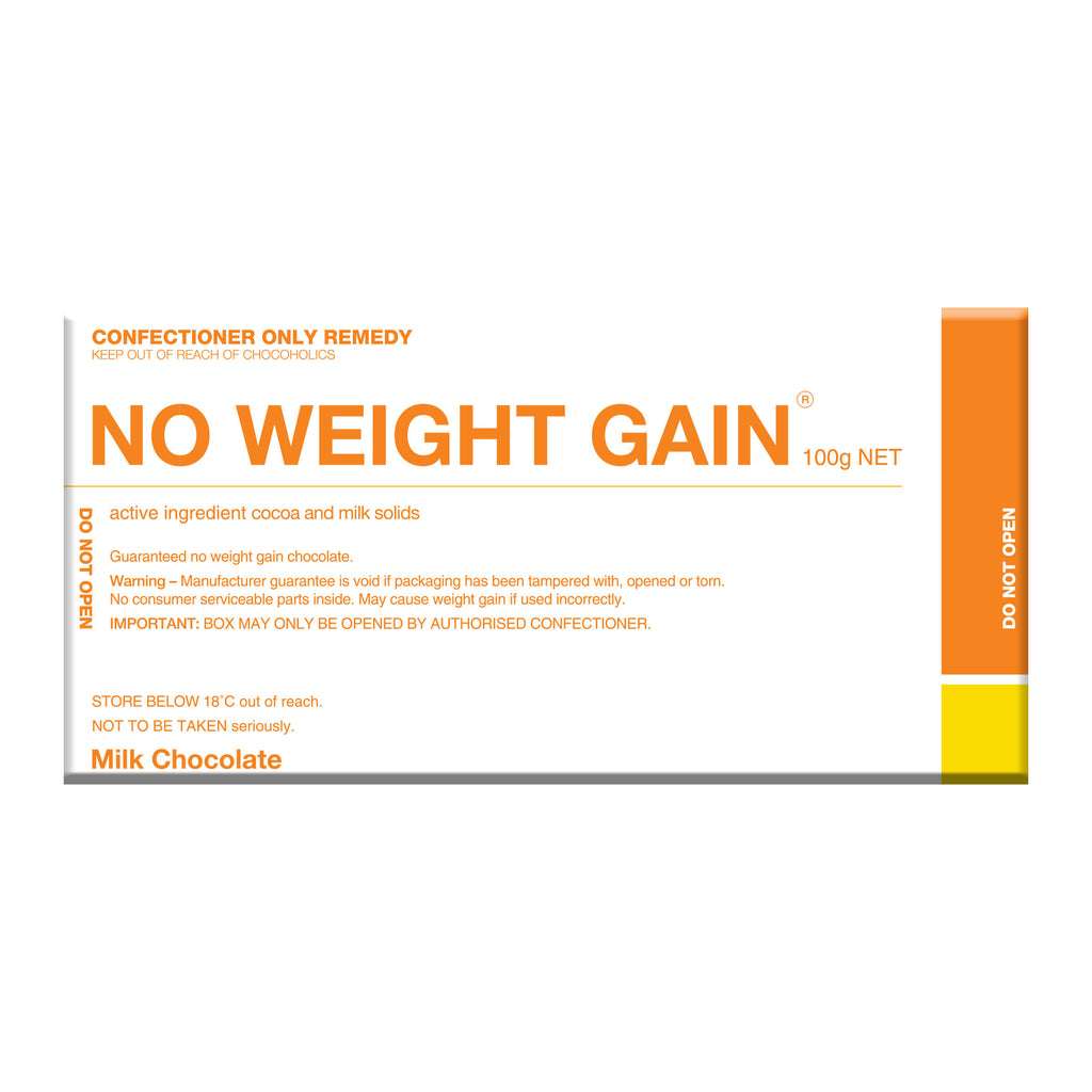 Chocolate Bar (Milk) - No Weight Gain 100g