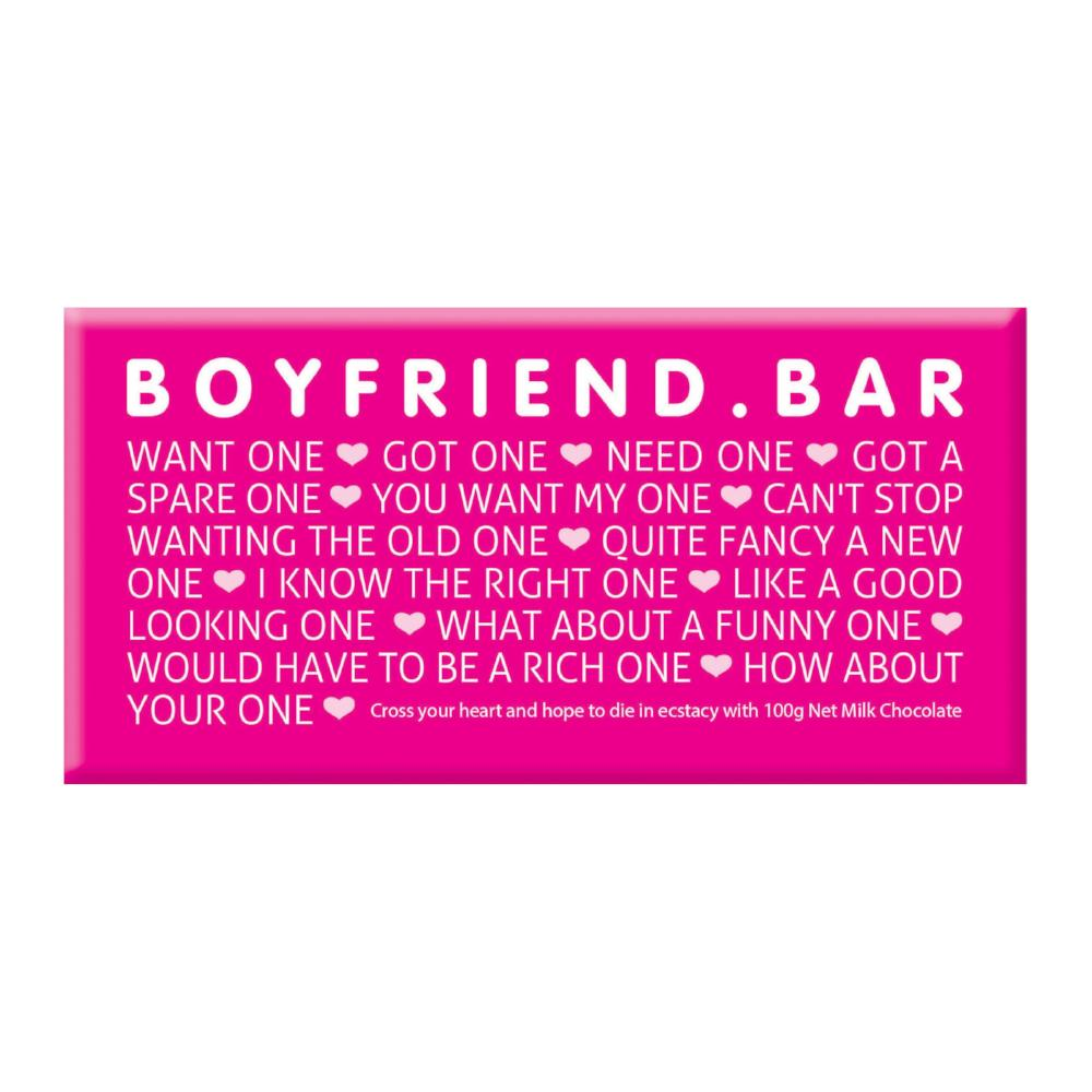 Chocolate Bar (Milk) - Boyfriend Bar 100g