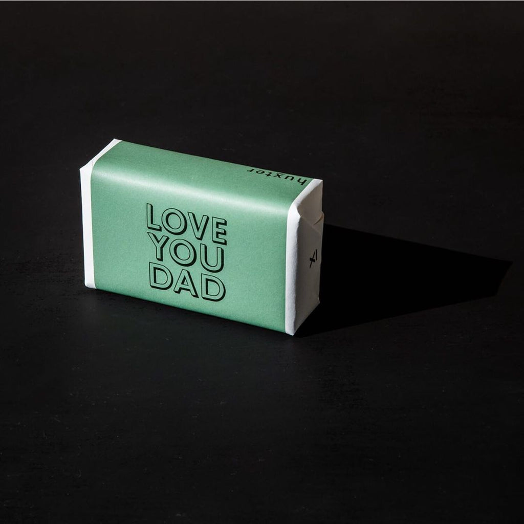 Love You Dad Gift Wrapped Soap (Lemongrass) 200gm