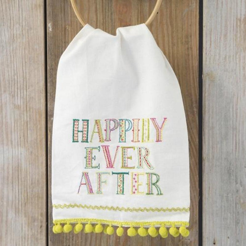 Hand Towel - LInen Happily Ever After