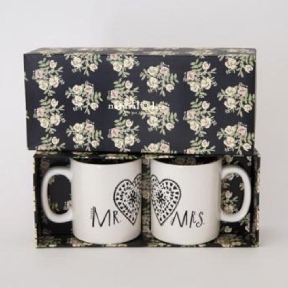 Mr & Mrs Mug Gift Set (2 Mugs)