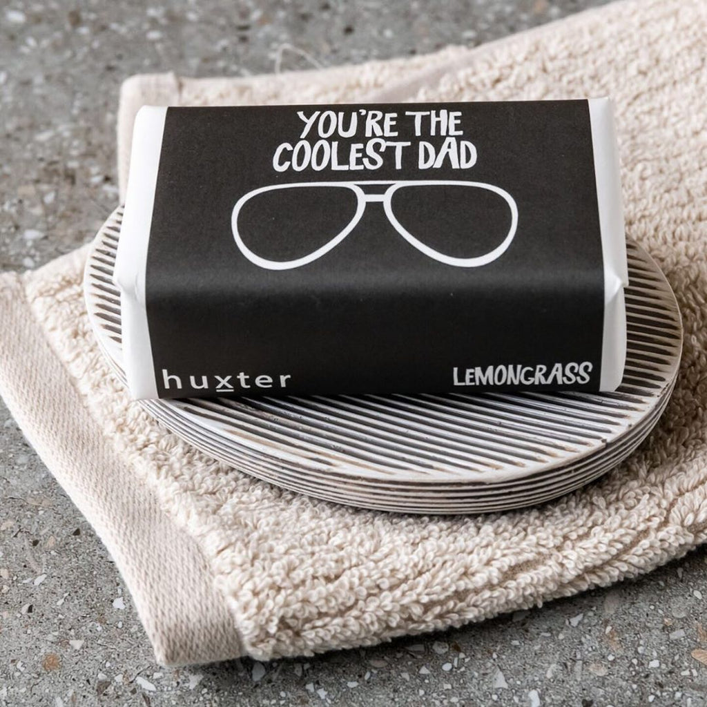 You're the Coolest Dad Gift Wrapped Soap (Lemongrass) 200gm