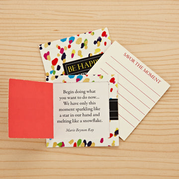 Pop-Open Message Cards - Be Happy
