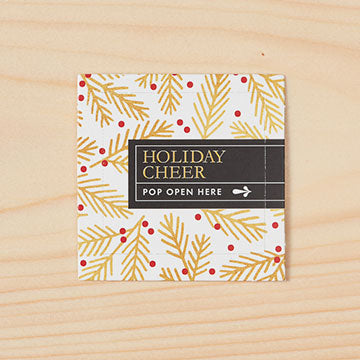 Pop-Open Message Cards - Holiday Cheer