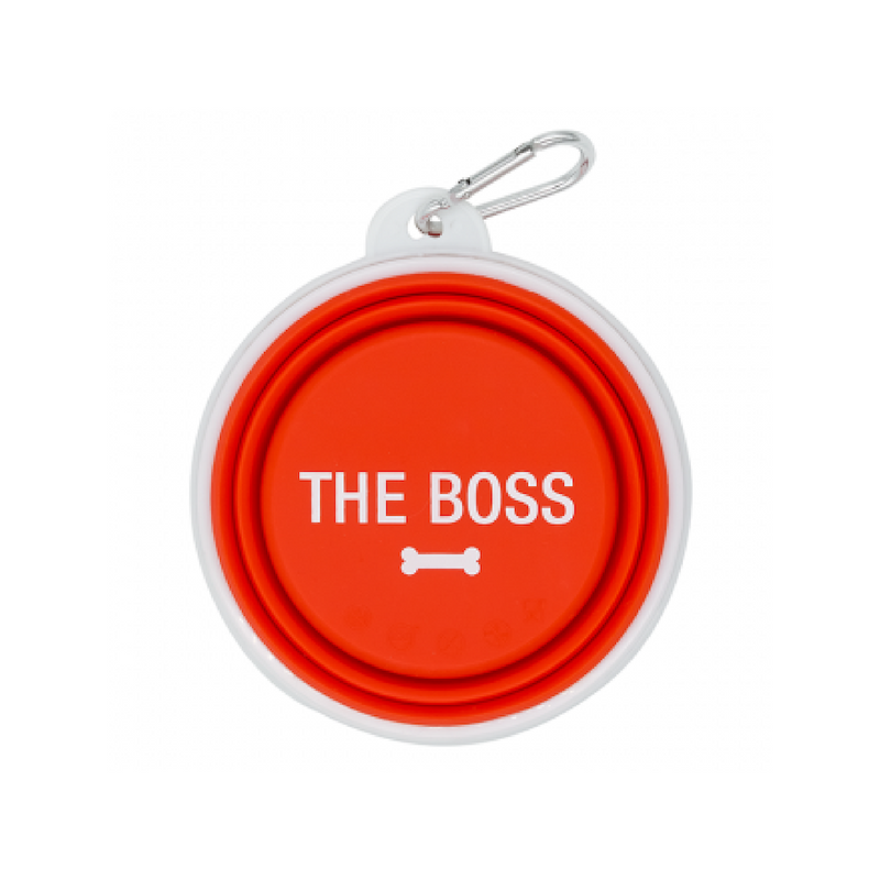 Dog Bowl - The Boss (Red)
