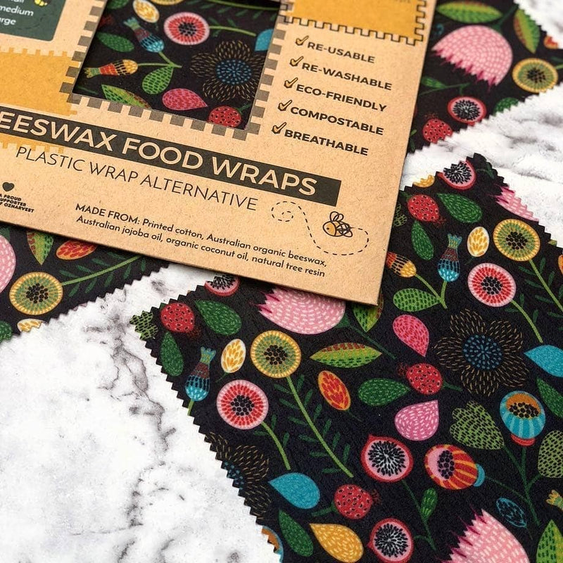 Beeswax Food Wraps (Small Size) Pack of 2